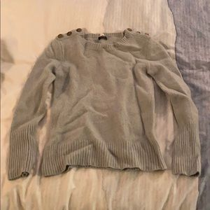 J CREW light green sweater